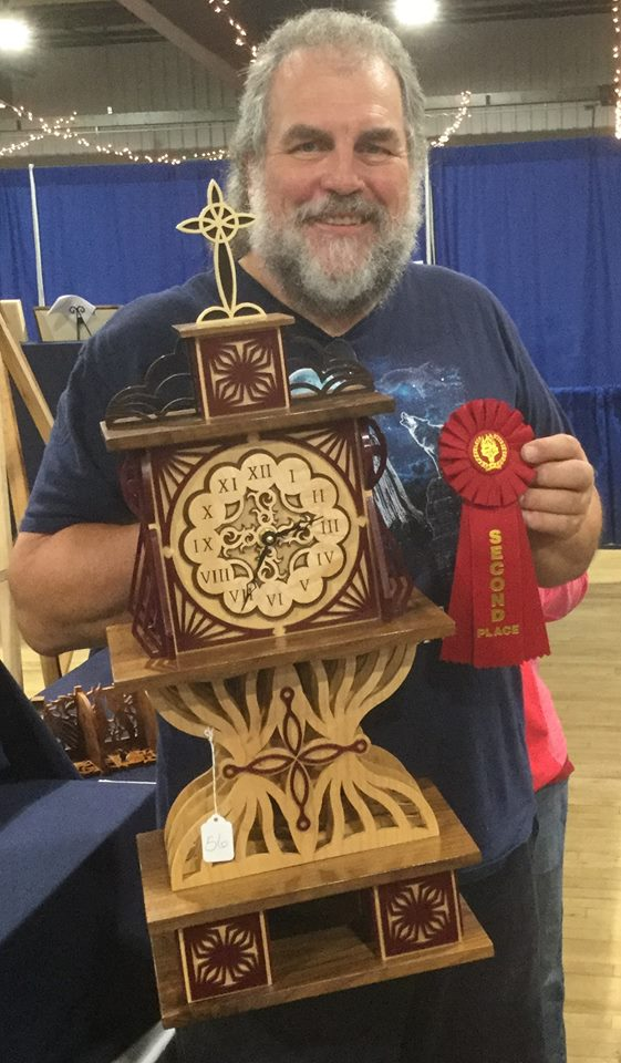3-D Fretwork Complex - Second Place --Rick Bartels