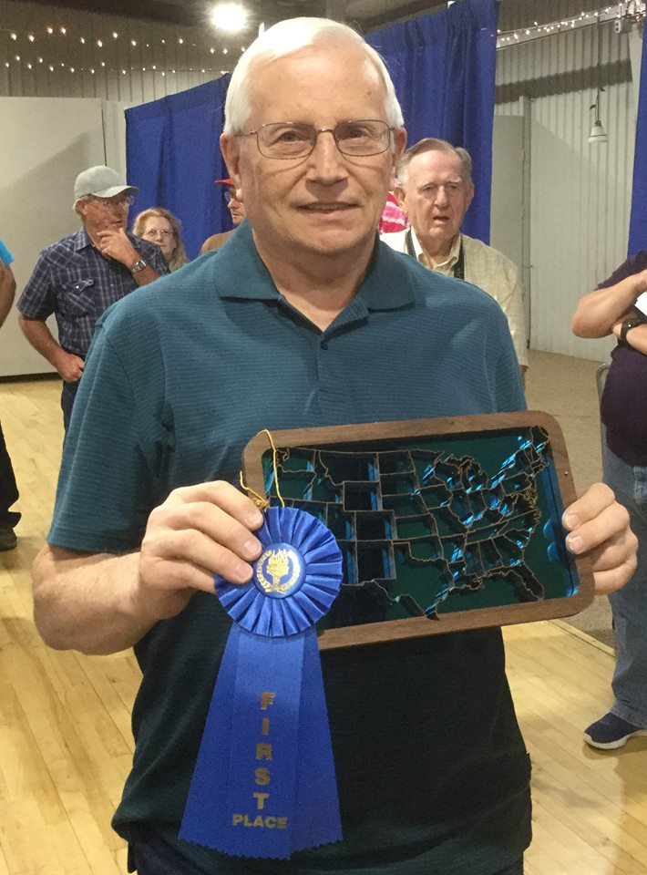 Fretwork Intermediate - First Place --Wayne Tesch