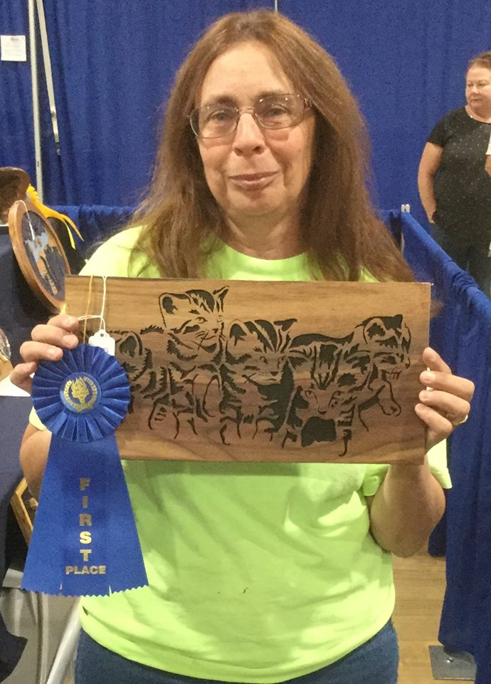 Fretwork Basic - First Place --Betty Fabiano