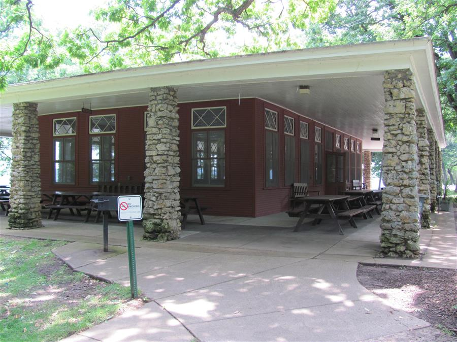 Eagle Point Park - Riverfront Pavilion