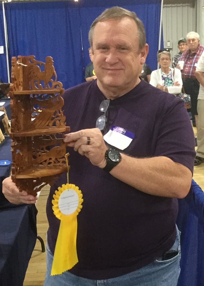 3-D Fretwork Basic - Third Place --Jim Talbert