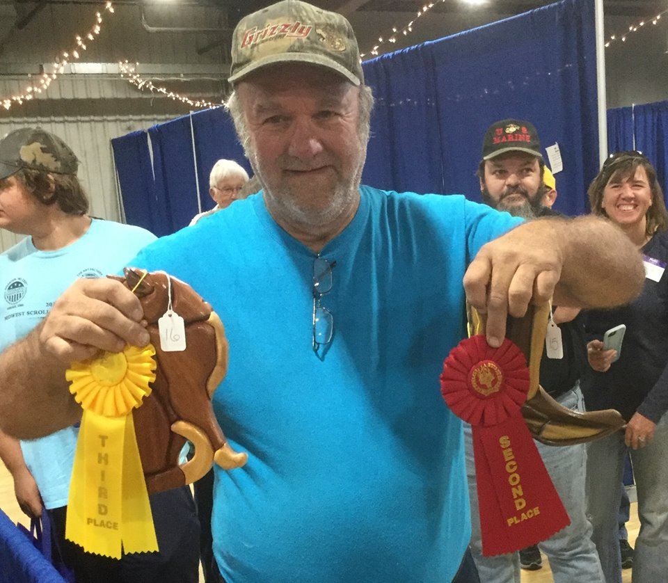 Intarsia Basic - Second and Third Place --Allan Barr