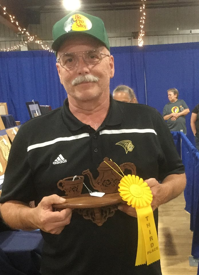 Fretwork Basic - Third Place --Bob Miller