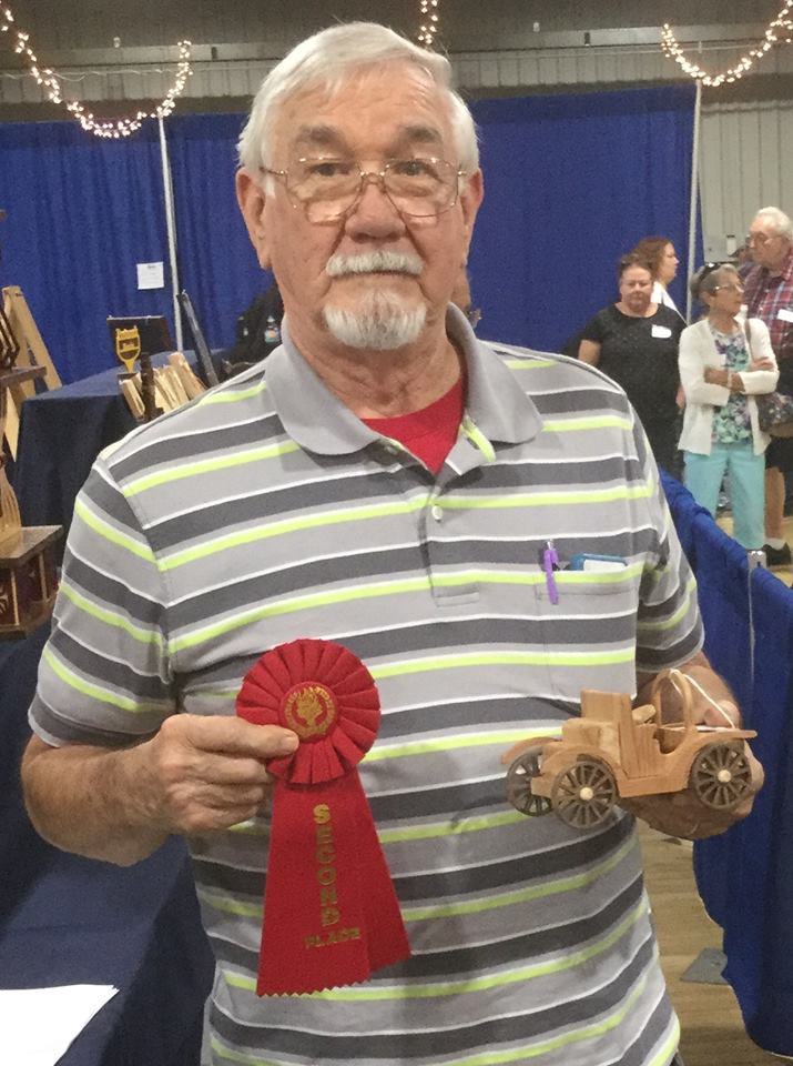 3-D Fretwork Intermediate - Second Place --Bill Carroll